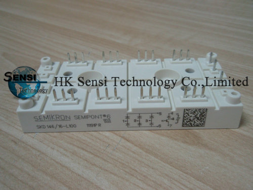 NEW SKD146//16-L100  SEMIKRON  MODULE  ORIGINAL